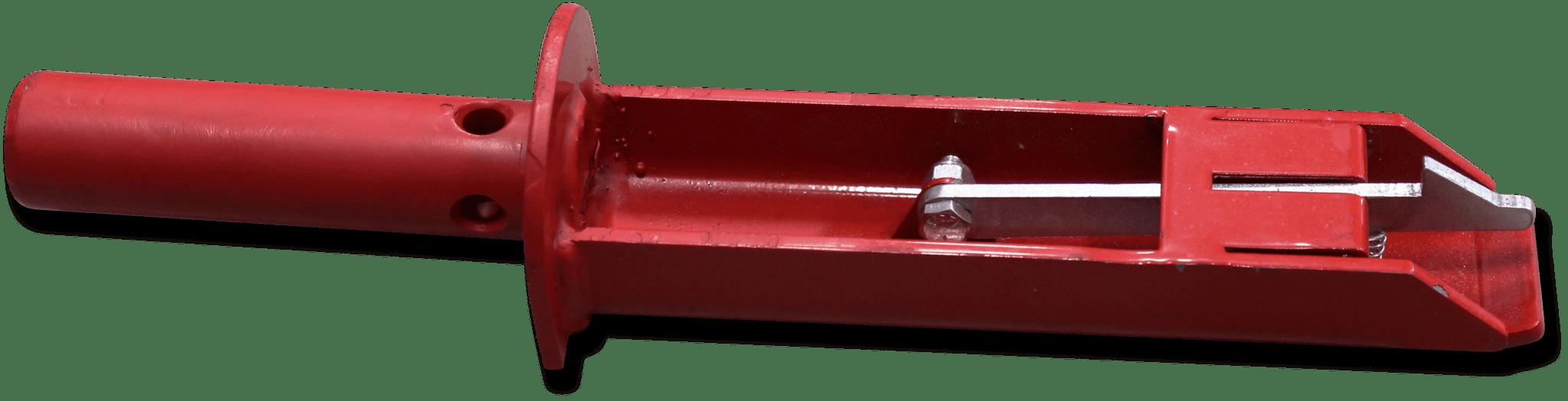 Red box lift adapter peg.