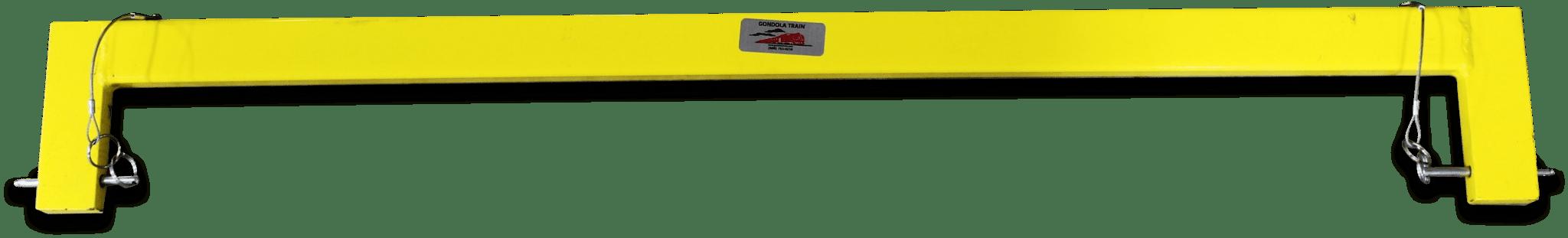 Yellow connecting braces.