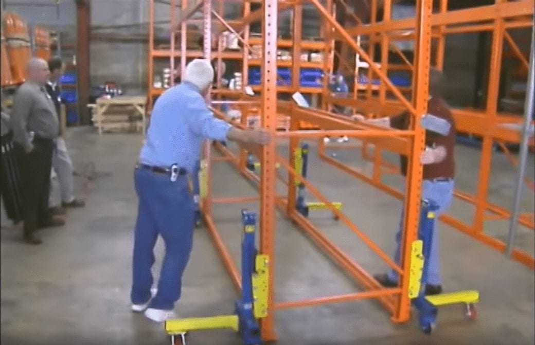 Pallet Rack Lifter Wow Video Gondola Train