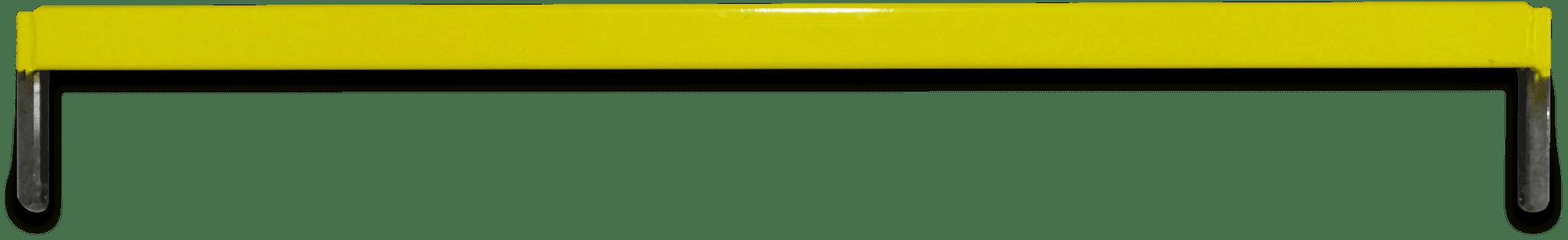 The yellow Gondola Train connecting beam.